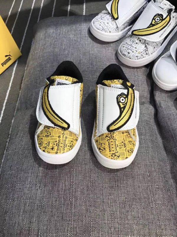 Giày Puma minions màu vàng - PU003