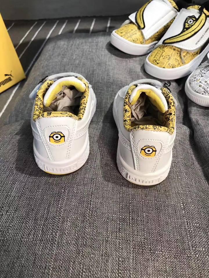 Giày Puma minions màu trắng - PU002