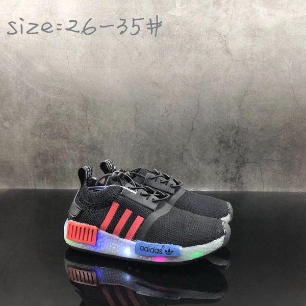 Adidas NMD đen siêu nhẹ cổ chun