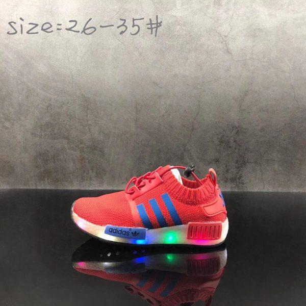 Adidas NMD đỏ siêu nhẹ cổ chun