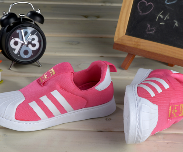 Baby Kids Adidas Superstar Slip On Pink Pow_03_LRG