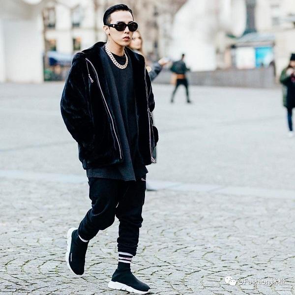 G-Dragon dạo phố với siêu phẩm Balenciaga