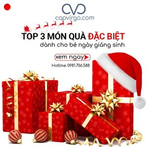 Top 3 món quà giáng sinh cho bé đắt khách nhất 2018
