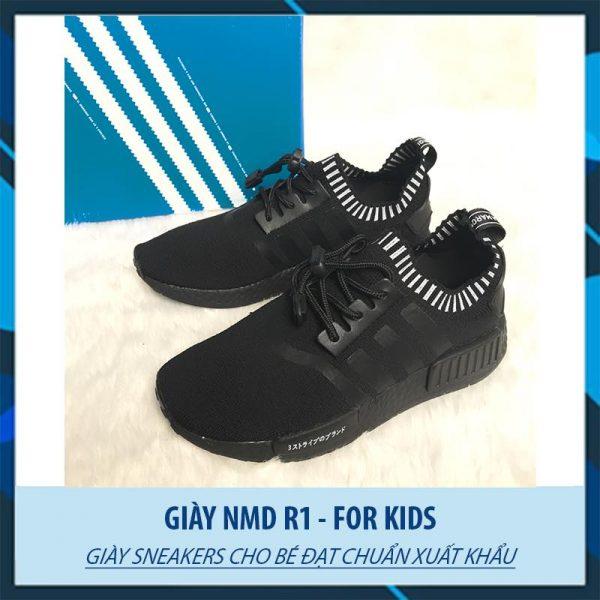 Giày thể thao Adidas NMD R1 full đen
