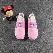 Giày trẻ em adidas màu hồng kute