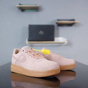 Giày Nike Air Force Màu Hồng Dành Cho Nữ