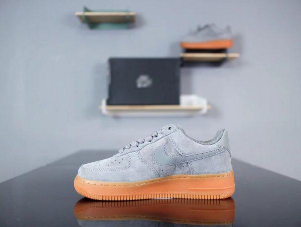 Giày Nike Air Force 1 Xanh Nhạt