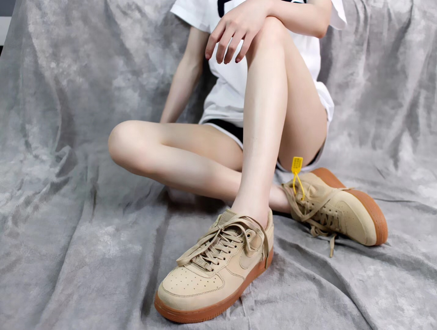 Giày Nike Air Force 1 Màu Be