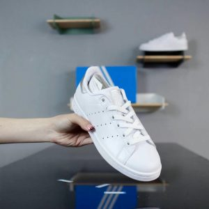 Giày Adidas Stan Smith Trắng gót bạc