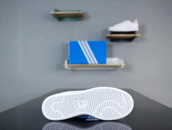 Giày Adidas Stan Smith Trắng gót Hồng