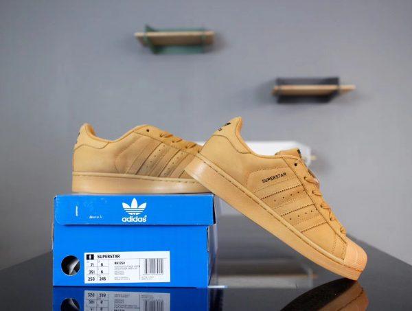 Giày Adidas Super Star Vàng Đồng