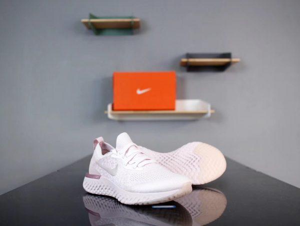Giày Nike Epic React Fly Knit màu hồng