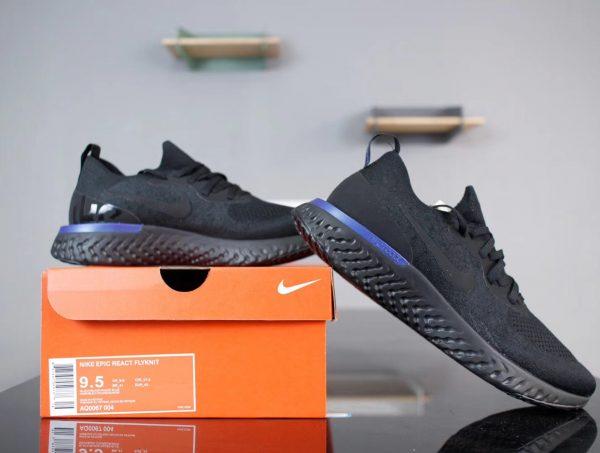 Giày Nike Epic React FlyKnit màu đen