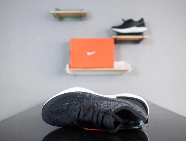 Giày Nike Epic React FlyKnit màu đen xám