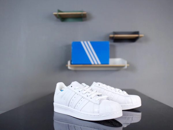 Giày Adidas Super Star Full Trắng