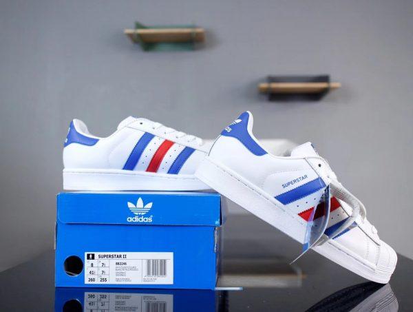 Giày Adidas Super Star 3 màu