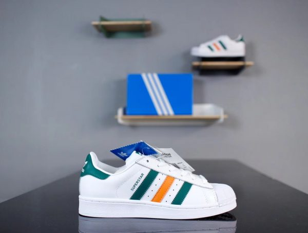 Giày Adidas Super Star 3 màu Version 2