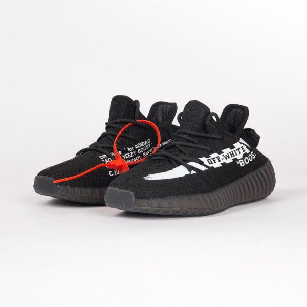 Giày Adidas Yeezy Boots V2 màu đen off-white