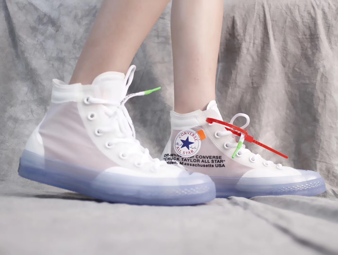 Giày Converse All Star 1970s Off-White màu trong
