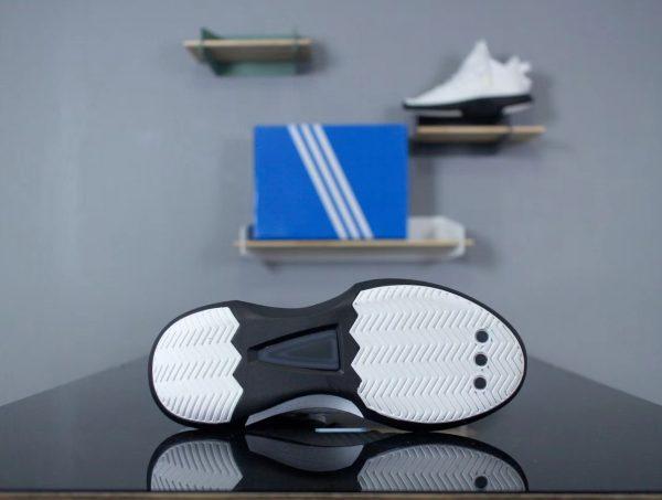 Giày Adidas CRAZY 1 ADV PK UNISEX màu trắng đế đen