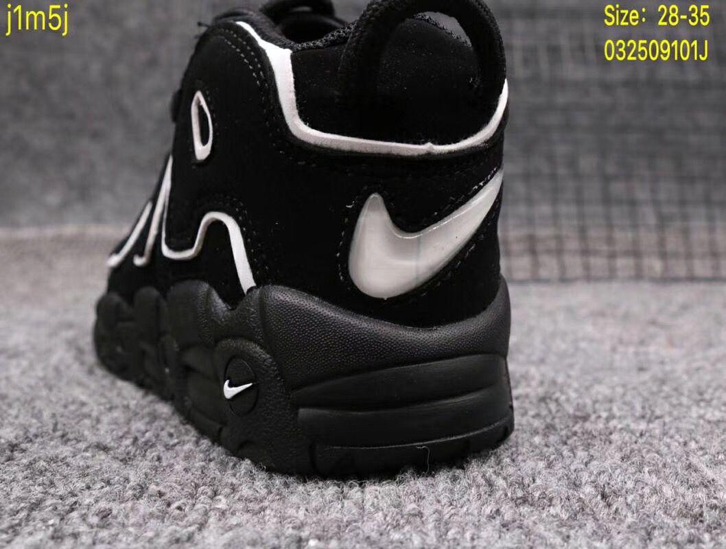 Giày Nike Air More Uptempo màu đen