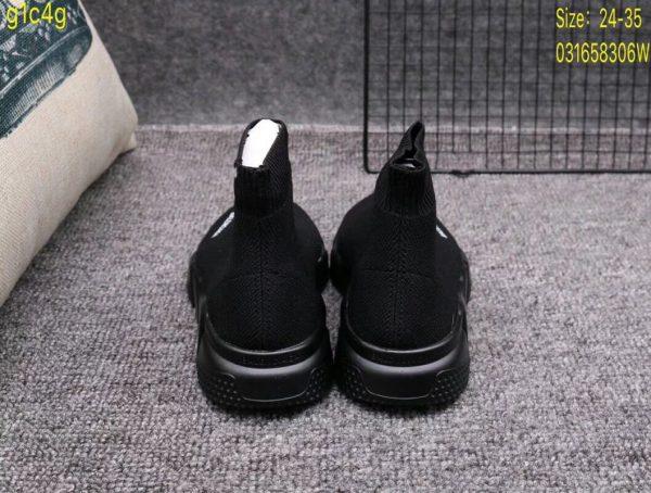 Giày Balenciaga cao cổ full đen
