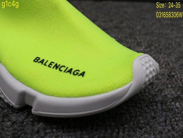 Giày Balenciaga cao cổ màu xanh nõn chuối