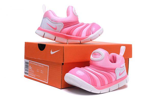 Giày nike sâu trẻ em màu hồng