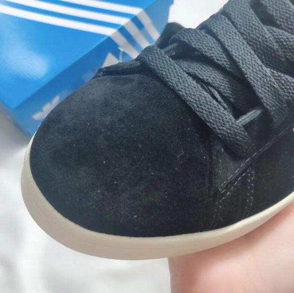 Giày Adidas CAMPUS đen sọc trắng