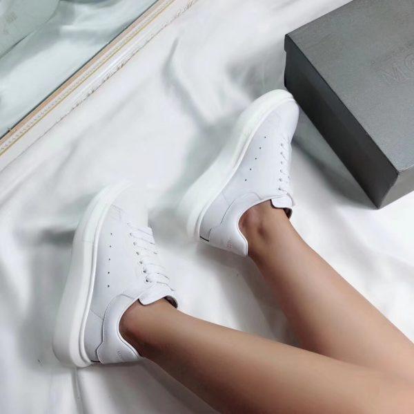 Giày Alexander mcqueen full trắng