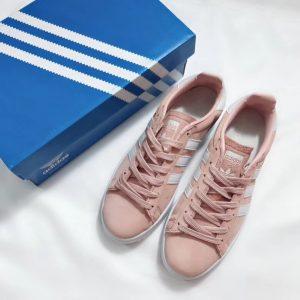 Giày Adidas CAMPUS màu hồng