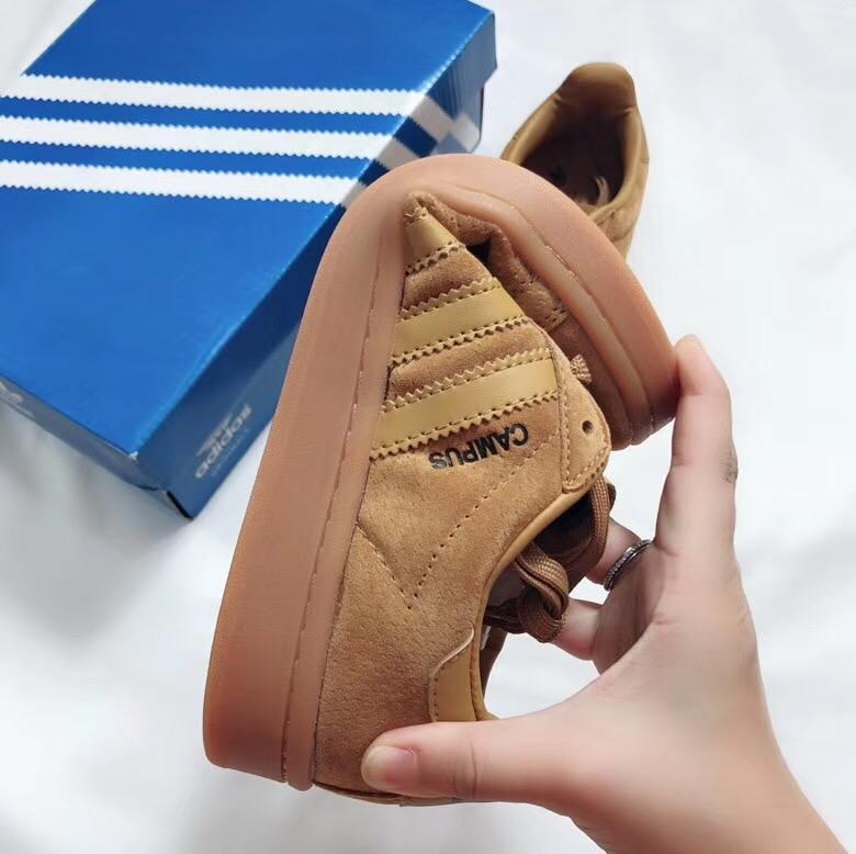 Giày Adidas CAMPUS màu nâu