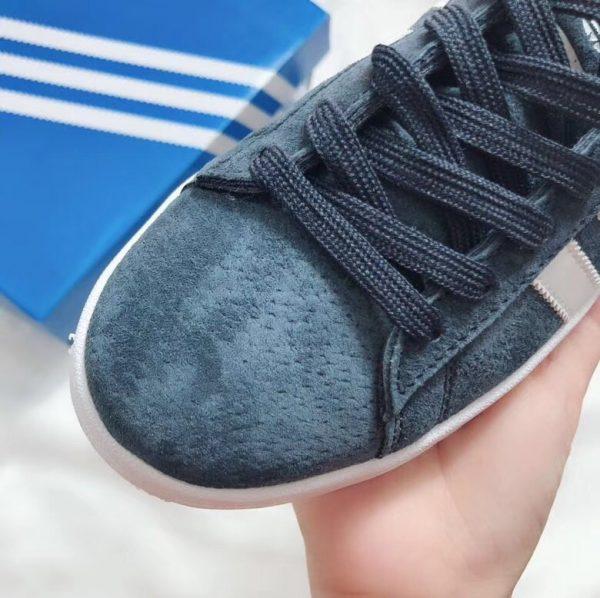 Giày Adidas CAMPUS xanh rêu