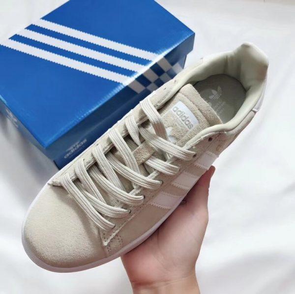 Giày Adidas CAMPUS màu vàng ghi