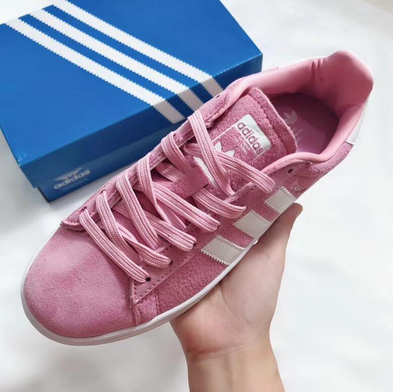 Giày Adidas CAMPUS hồng