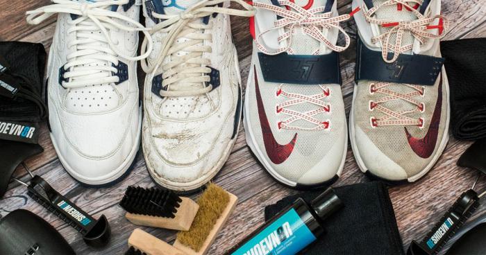 20 bí kíp vệ sinh và bảo quản giày thể thao