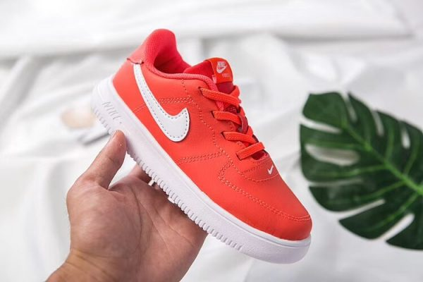 Giày thể thao trẻ em nike air force 1 màu cam