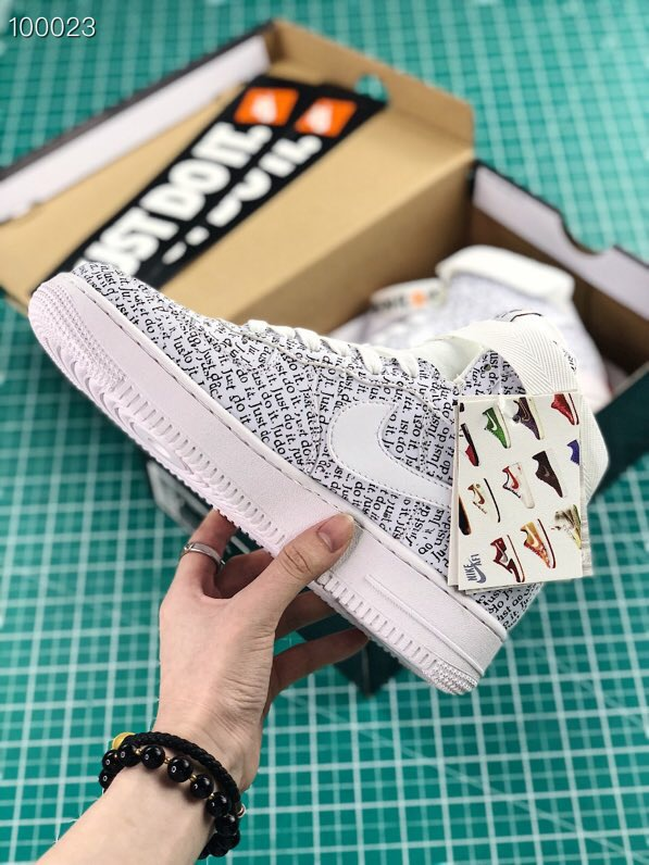 Giày nike nữ Air force 1 Just do it