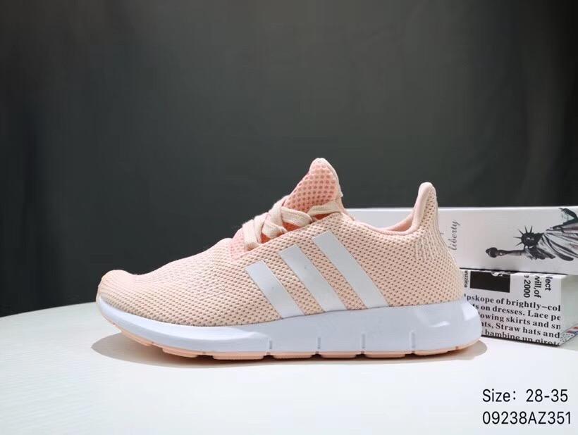 Giày thể thao trẻ em Adidas Run wift cam hồng