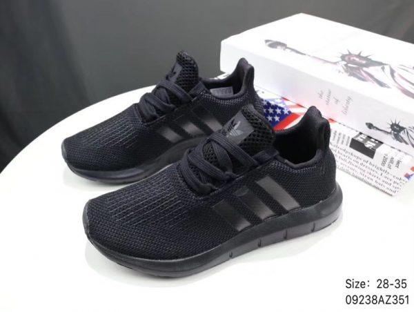 Giày thể thao trẻ em Adidas Tubular shadow full đen