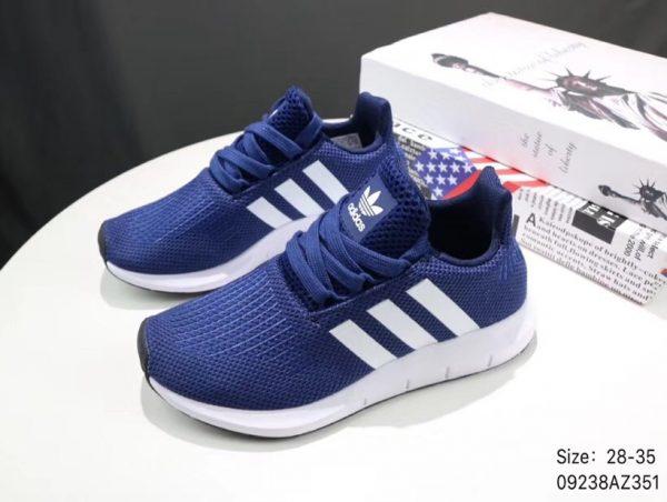 Giày thể thao trẻ em Adidas Tubular shadow màu xanh