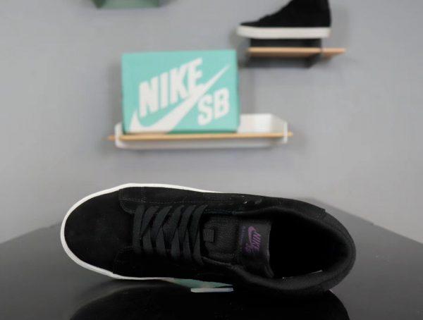 Giày nike nữ SB màu đen