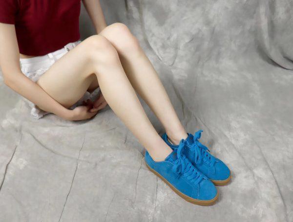 Giày nike nữ SB màu xanh nước biển