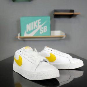 Giày nike nữ SB trắng vàng