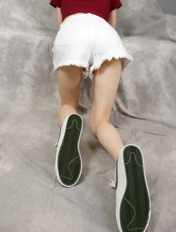 Giày nike nữ SB màu trắng đế kếp