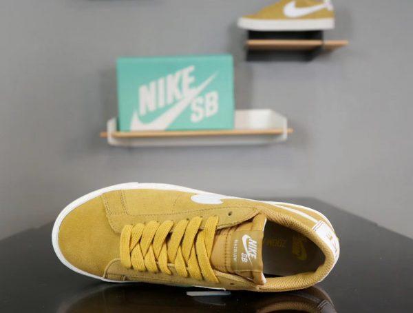 Giày nike nữ SB màu da bò