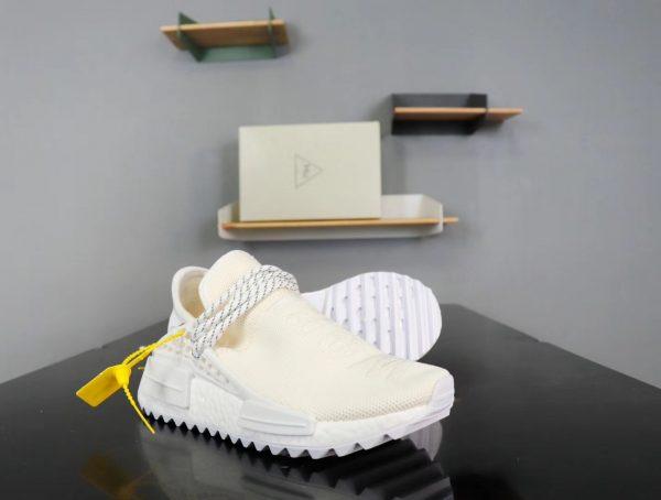 Giày Adidas NMD Human Race full trắng