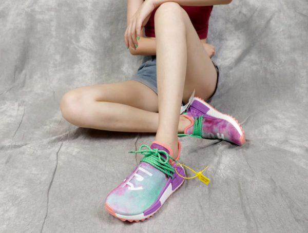 Giày Adidas NMD Human Race màu tím