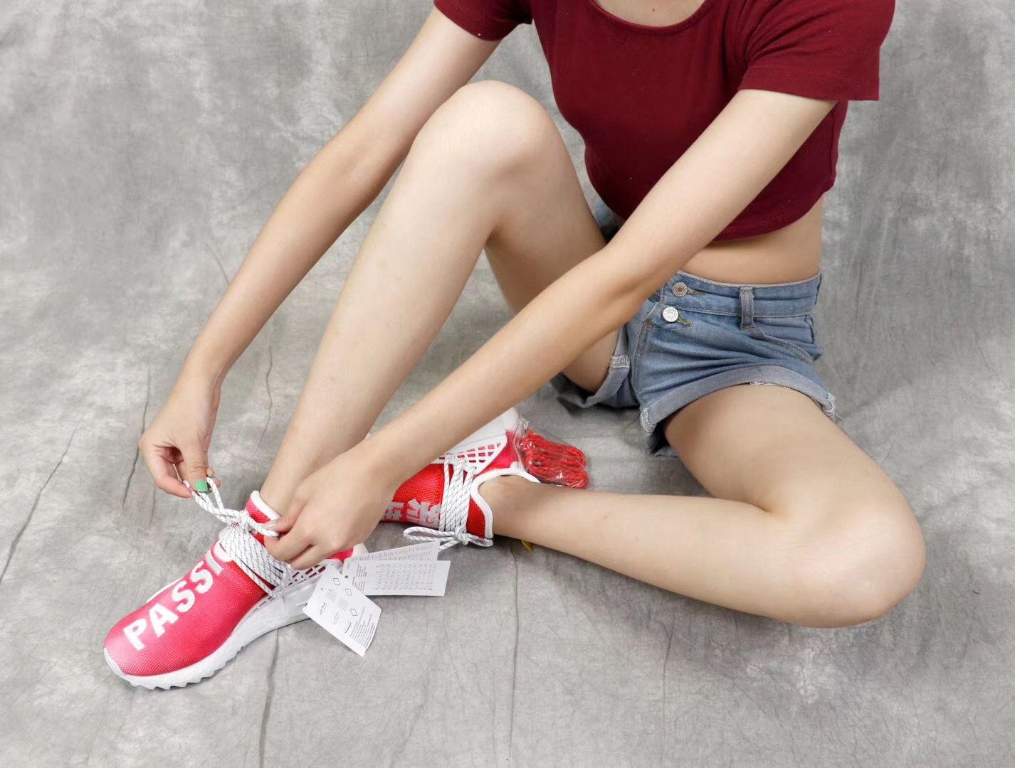 Giày Adidas NMD Human Race màu đỏ