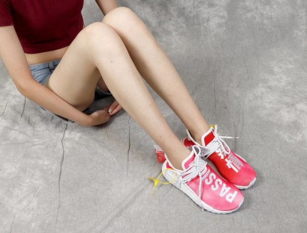 Giày Adidas NMD Human Race màu hồng